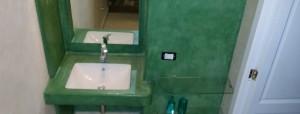 bagno verde cromo