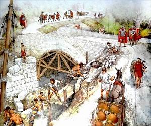 Utilizzo della calce durante il Sacro Romano Impero.