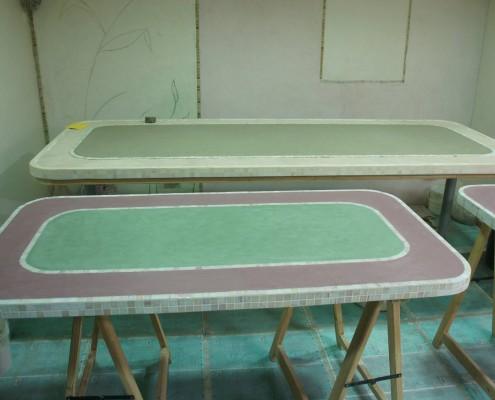 Tavolo in tadelakt