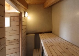 Sauna tadelakt acqui terme
