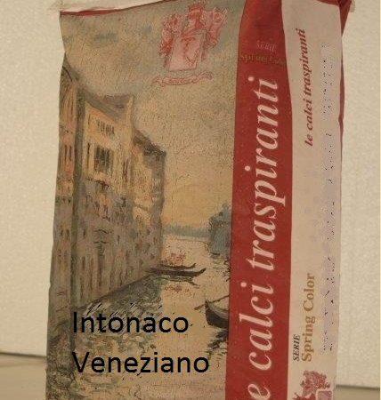 Intonaco veneziano spring color