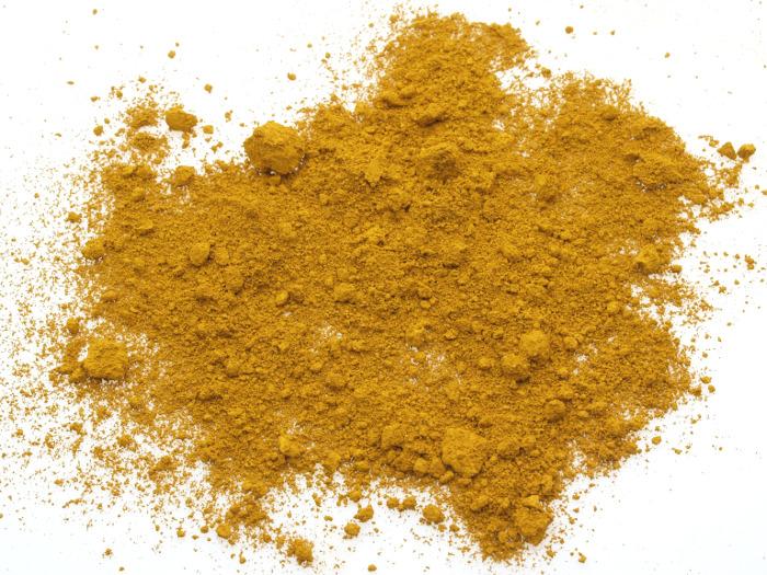 colore tadelakt ossido giallo