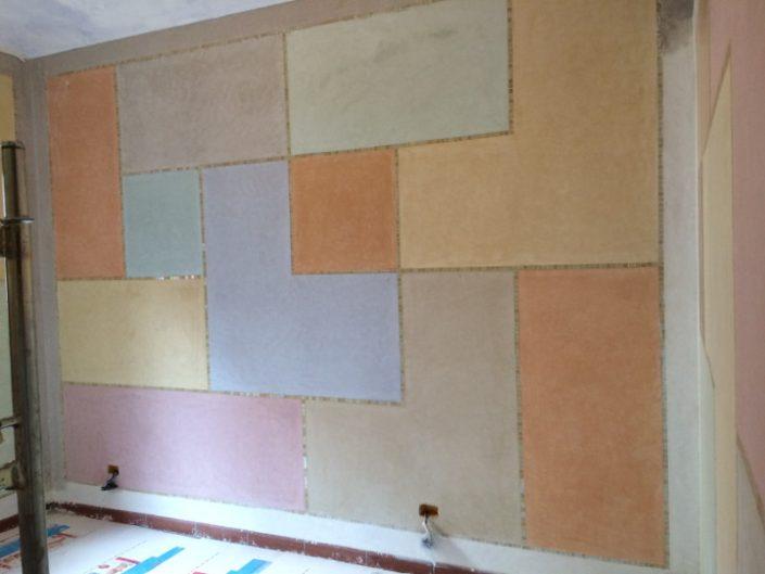 Realizzazione parete in Tadelakt