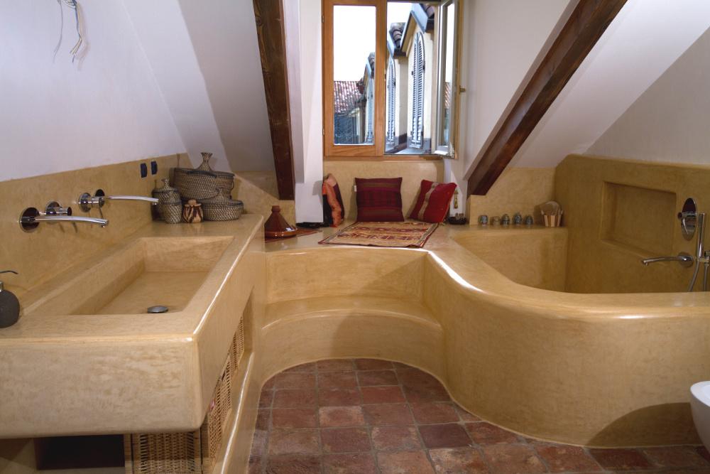 bagno calce marocchina