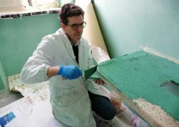 preparare la calce per il tadelakt