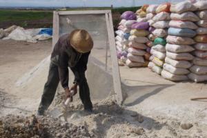 Setaccio della calce marocchina