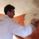 Applicazione tadelakt a parete