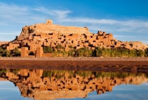 Villaggio Berberi in Marocco