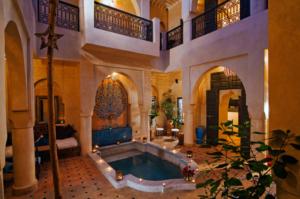 Riad in Tadelakt a Marrakesh