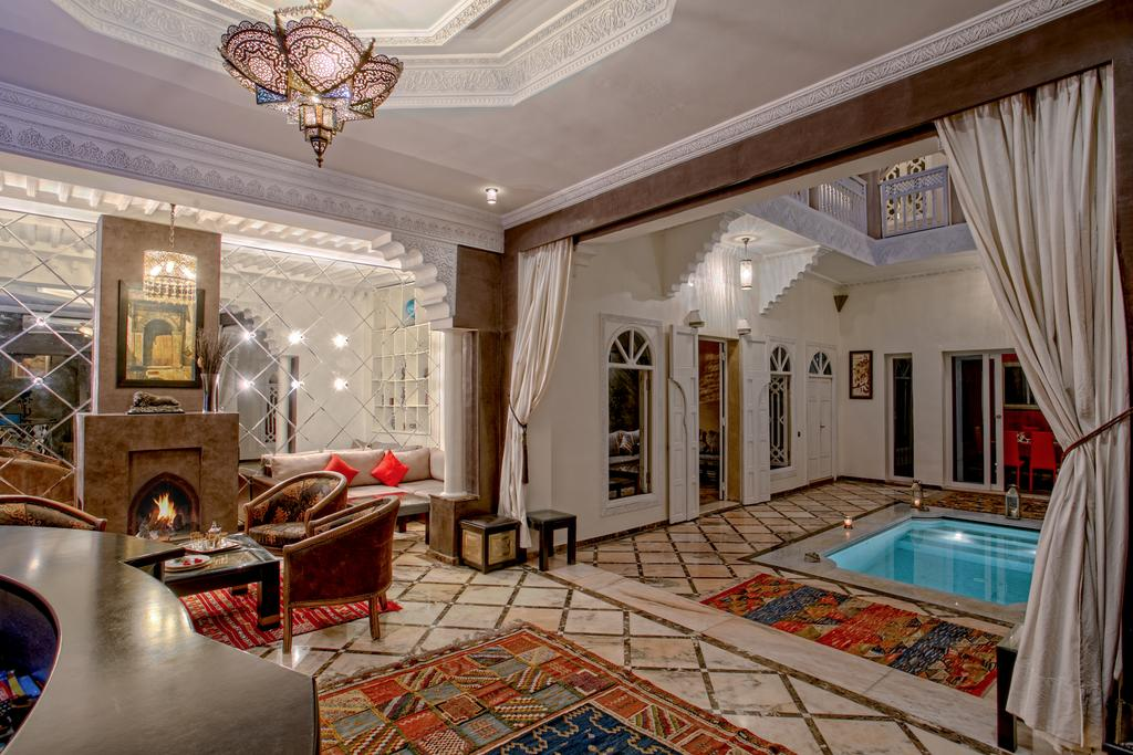 Riad Dream cortile centrale