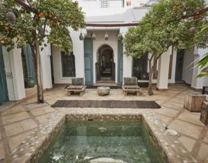 Riad Dyor cortile centrale