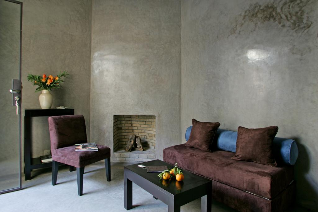 Salotto grigio in tadelakt