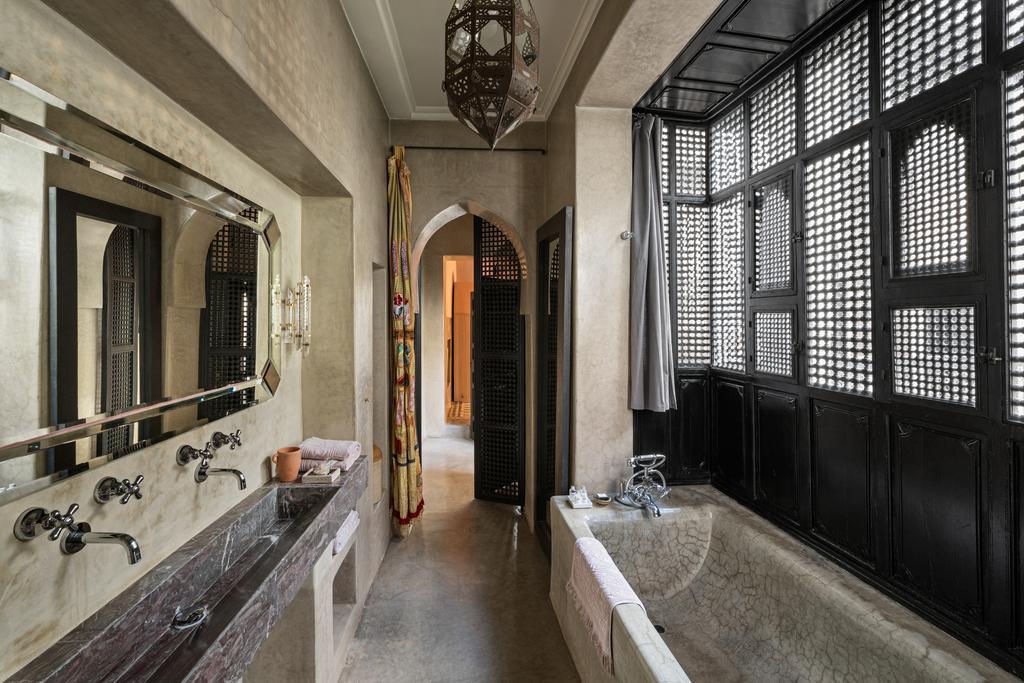bagno con tadelakt effetto antico