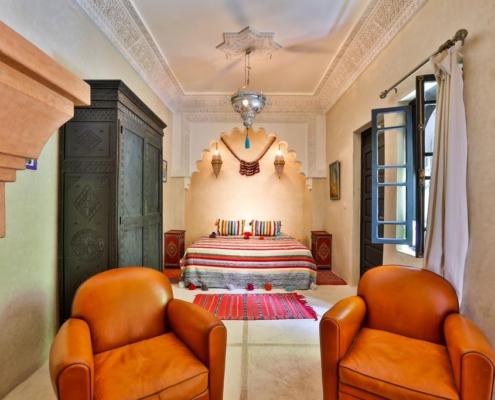lussosa stanza in tadelakt marocchino