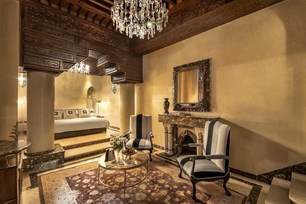 lussuosa suite in tadelakt ocra