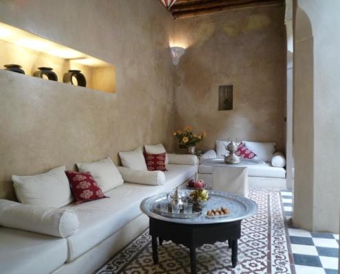 relax area in tadelakt