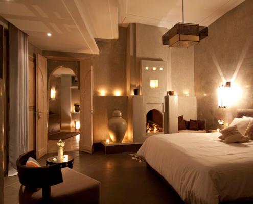 stanza da letto in tadelakt piu bella