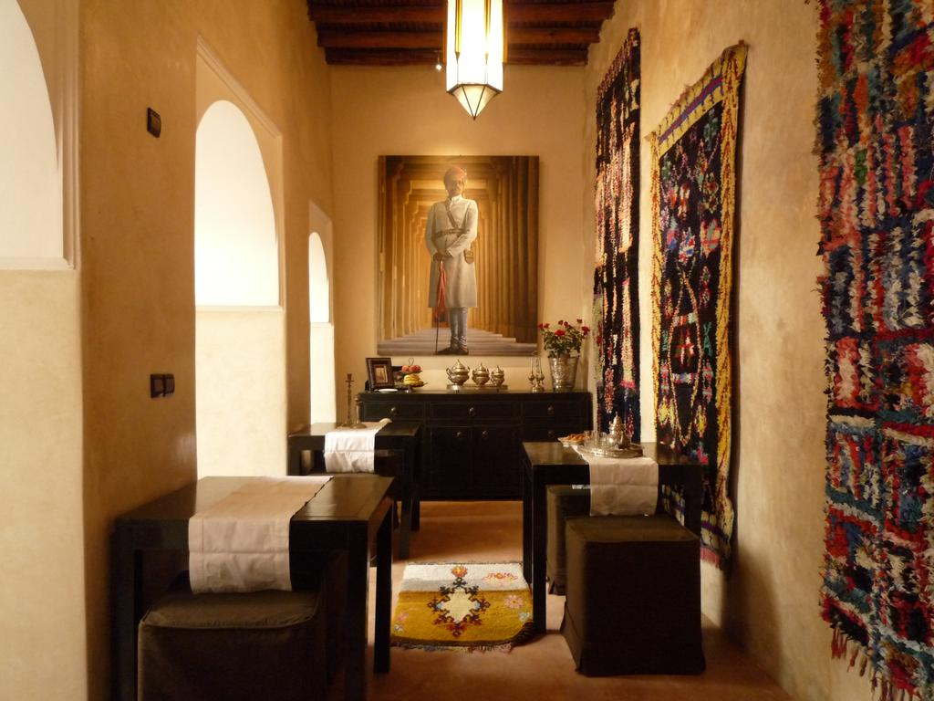 sala hotel in tadelakt marocchino