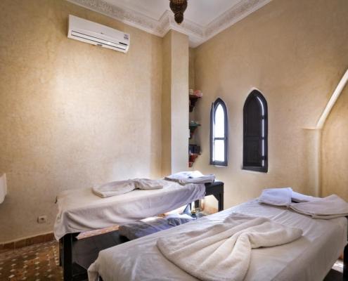 sala massaggi in tadelakt naturale