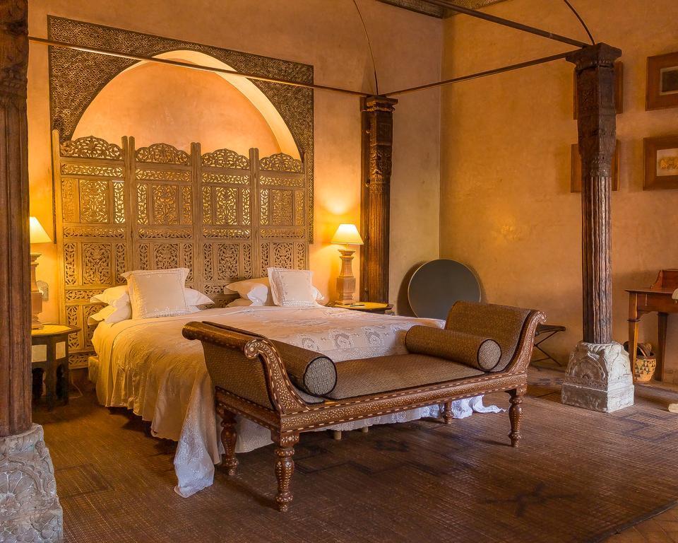 stanza da letto in tadelakt