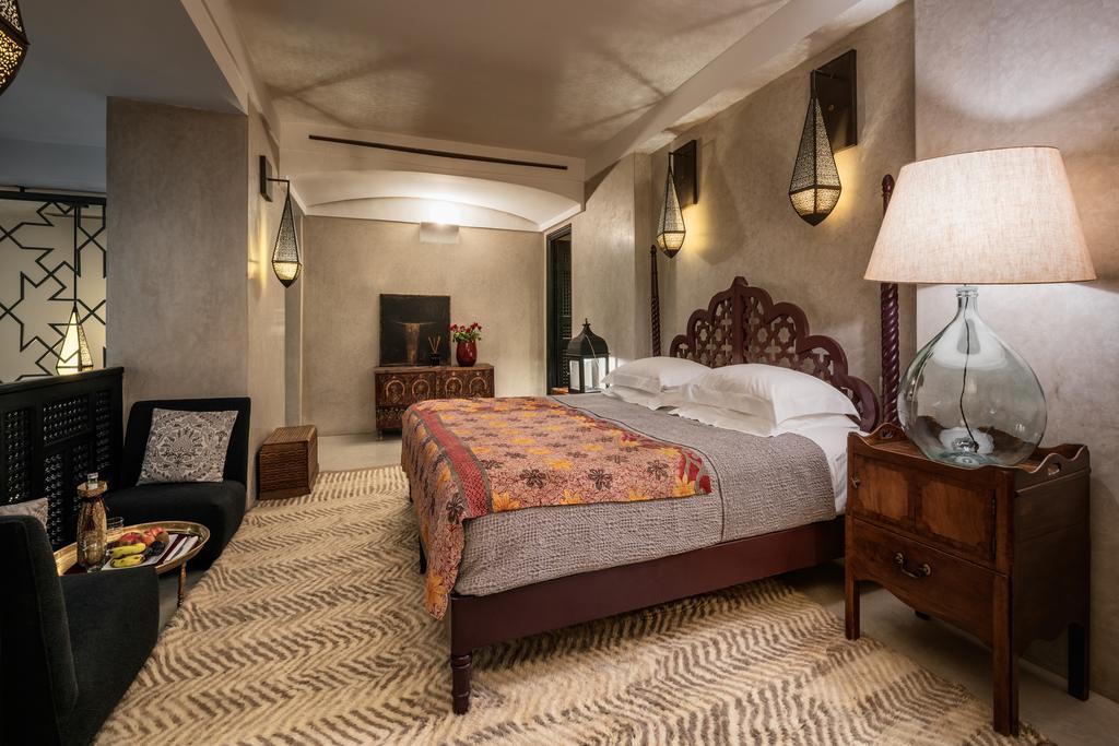 stanza da letto in tadelakt grigio