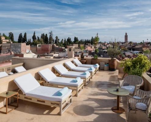 terrazzo in tadelakt marrakesh
