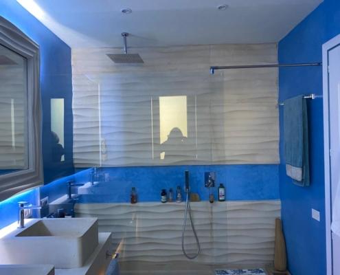 Bagno blu tadelakt